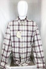 Wrangler Rugged Wear Men's Long Sleeve Collared Casual Plaid Shirt XXL NWT