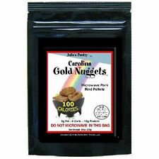 Carolina Gold Nuggets 100 Calorie Snack Microwave Pork Rinds 12 Packages