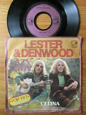 "7"" LESTER & DENWOOD : LAZY LADY / CELINA   Vinyl Single 1975"