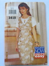 Butterrick Sewing Pattern #3410 See & Sew Now Yes its easy