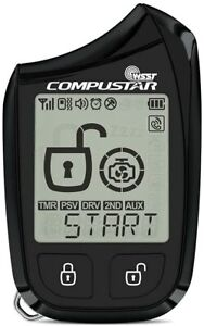 Compustar 2W901R-SS 2-Way LCD Replacement Remote 1 Mile (2W901RSS) BRAND NEW!