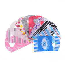 500 Bags Mixed Color Plastic Packaging Bags PE Material 145x85mm Gifts Package