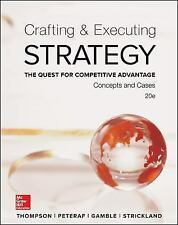 Crafting and Executing Strategy : The Quest for Competitive Advantage (2016)