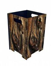 Papierkorb Baum Holz Photopapierkorb Mülleimer Büro