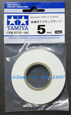 5mm Curve Masking Tape #87179  For Tamiya Spray Set Paint Tool