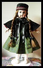 Cape velours poupée ancienne Jumeau SFBJ Halbig Kestner antique doll cloak
