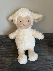 M&S CREAM FLUFFY CREAM LAMB SHEEP 04039976 BABY SOFT HUG COMFORTER TOY