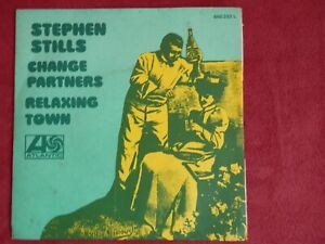 STEPHEN STILLS Change partners SP France 1971 BIEM