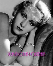 KAREN MORLEY 8x10 Lab Photo 1930s EARLY YOUTHFUL GLAMOUR ELEGANCE PORTRAIT