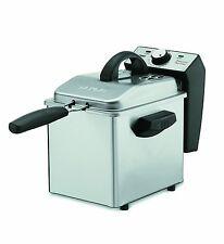 Waring Pro 2 Qt. 1500 Watts Stainless Steel Digital Deep Fryer - Recertified