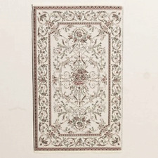 Dolls House Emporium 1/12th scale Georgian Style Cream Rug (2253)
