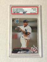 GLEYBER TORRES 2017 Bowman Chrome ROOKIE RC #BCP80! PSA MINT 9! CHECK MY ITEMS!