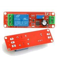DC 12V Relay Module Adjustable Delay Time 0 Second Z3A2 Timer NE555 T6E9