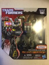 Transformers Generations Fall of Cybertron FOC Voyager Class Soundblaster
