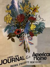 vintage Paragon needlecraft embroidery crewel kit Flower Arrangement