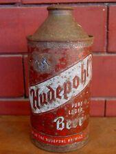 Barn Fresh! Hudepohl Pure Lager Beer Cincinnati, Ohio 12 oz Cone Top Beer Can