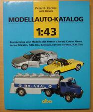 Modellauto-Katalog 1:43: Basiskatalog aller Modelle Preisliste Herpa Märklin