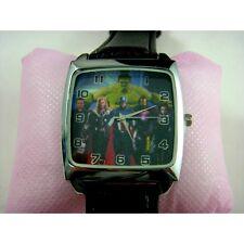 HOT The Avengers Superhero Hulk Captain America Thor Quartz Steel Wrist Watch