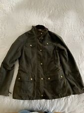 Ladies William Morris Barbour Jacket Size 12