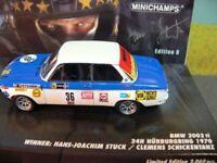 1/43 Minichamps BMW 2002 ti Winner 24h Nürburgring 1970 H.J.Stuck