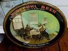 VINTAGE 1933 HUDEPOHL BREWING COMPANY HUDEPOHL BEER OHIO TIN BEER SIGN
