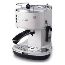 De Longhi ECO-311W Macchina per Caffè Espresso Macinato 1,4L Bianco