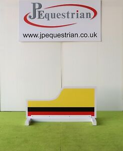 Yellow, Black and Red Van Show Jump Filler-For Showjumping