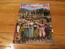 1993 YOUR SOUND OF MUSIC KEEPSAKE GRAYLINE PROMOTIONAL TOUR BOOKLET PB