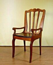"""Chair for Tonner BJD Dolls 16"""" 1/4 wood furniture OOAK 2020 V12"""