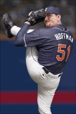 "MCFARLANE - MLB SERIES 4 – TREVER HOFFMAN - SAN DIEGO PADRES – 6"" ACTION FIGURE"