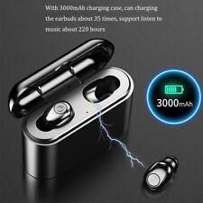 Auriculares Bluetooth 5.0 X8 TWS Inalambricos con caja de carga cascos y mic CPR