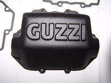 Moto Guzzi Custom VALVE COVERS Big Blocks Square Fin 1100 BLACK Satin