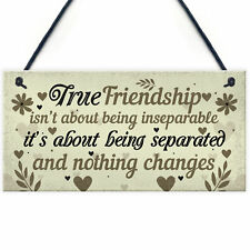 Best Friend Gifts Friendship Christmas Birthday Gifts Thank You Plaque Keepsake