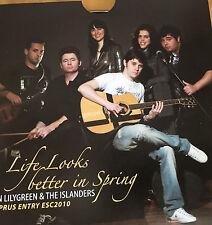 CD PROMO EUROVISION CYPRUS 2010 JON LILYGREEN AND THE ISLANDERS