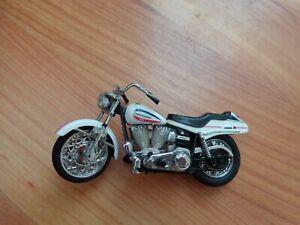 1/24 Franklin Mint Classique 1971 Super Glide Harley Davidson Moto Vélo