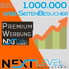 1.000.000 (1Mio) Webseiten Besucher ✔︎ Homepage Traffic ★ SEO ★ online Werbung