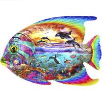 Drill Diamond Painting Kit Like Cross Stitch Trout Fish in the Stream DIY ZY207B