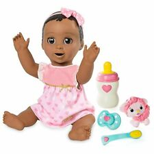 NEW! LuvaBella Interactive Baby Doll W/ Realistic Expression & Response Brunette