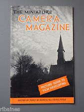 R&L Vintage Mag, The Miniature Camera December 1952, Shutter Speed Testing