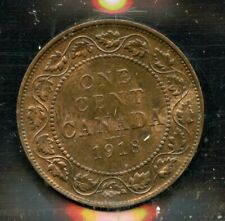 1918 Canada Large One Cent - ICCS MS-63, Red and Brown - Cert#SO814