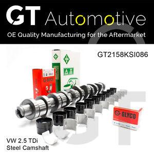 VW STEEL CAMSHAFT KIT for 2.5 TDi BNZ BPC BPD BPE 070109101Q