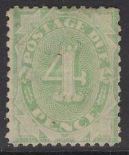 AUSTRALIA SGD56 1907 4d DULL GREEN p11½x11 MTD MINT