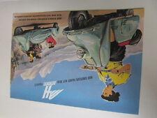 Archivio MOTO Edition fac simili 1017e Heinkel tpourist ROLLER prospetto