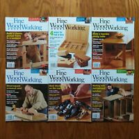 Fine Woodworking Magazine Lot 2012 Complete Year (6) Frame Box Table Block Plane