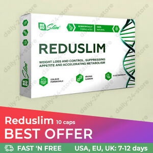 REDUSLIM - 100% Natural Fat Burning Weight Loss Supplement
