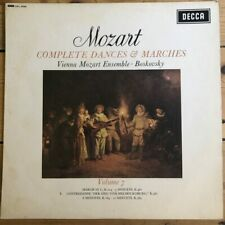 SXL 6246 Mozart Complete Dances & Marches Vol. 7 / Boskovsky W/B