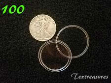 100-T30.6mm AIRTITE/DIRECT FIT COIN CAPSULE for WALKING LIBERTY HALF DOLLARS