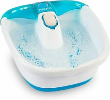 New listing HoMedics Bubble Mate Foot Spa, Toe Touch Controlled Foot Bath with Removable New