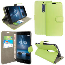 FOR NOKIA 3 5 6.1 LEATHER WALLET BOOK STYLE OPENING PHONE PROTECT CASE COVER
