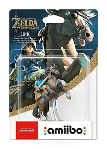 Zelda Breath of the Wild Link Rider Amiibo Nintendo 3DS Wii WiiU Switch - New!